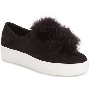 Steve Madden Puff Ball Sneakers